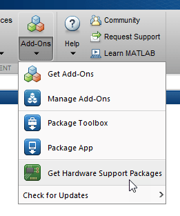 Install Support for Raspberry Pi Hardware - MATLAB & Simulink