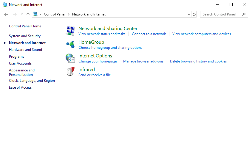 Configure Ethernet Connection Manually on Windows 10 - MATLAB & Simulink