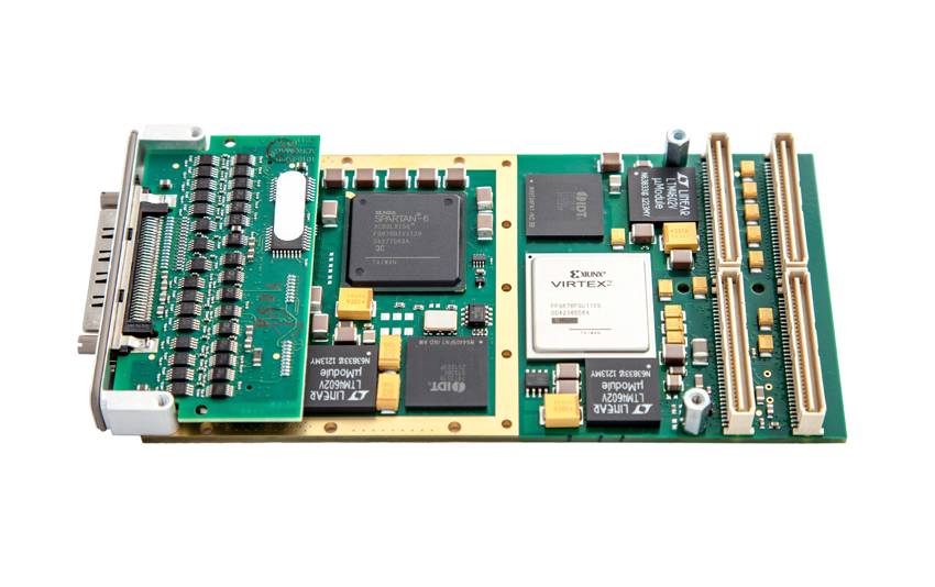 Speedgoat Xilinx Spartan-6 for algorithm acceleration.