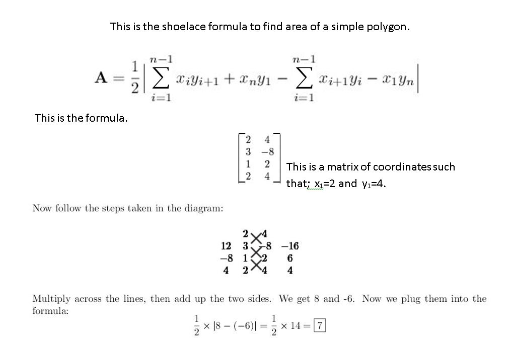 Finding The Area Of A Polygon Matlab Answers Matlab