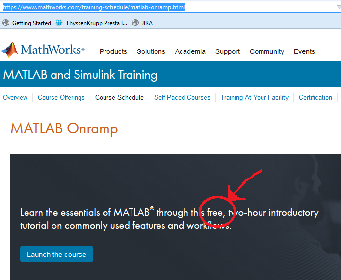 Are Self Paced Course Free Matlab Answers Matlab Central