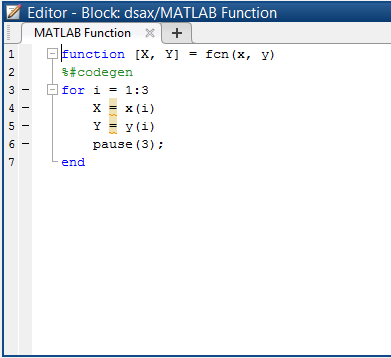 How to write a function in matlab with multiple outputs
