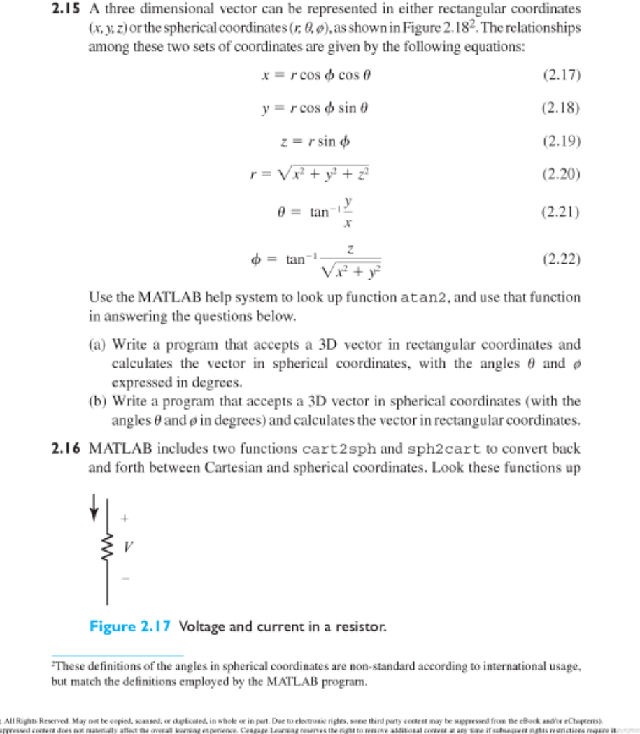 matlab homework