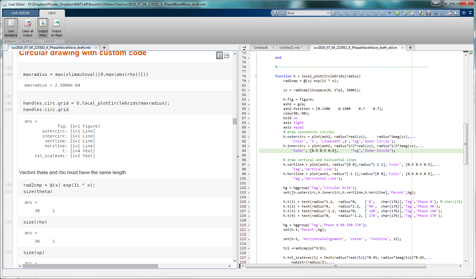 A Way To Work Around Matlab S Inability Of Put A Local