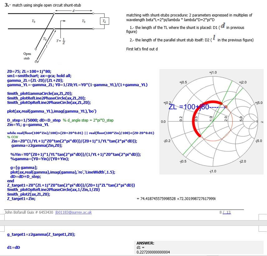 How To Plot Smith Chart Matlab Answers Matlab Central