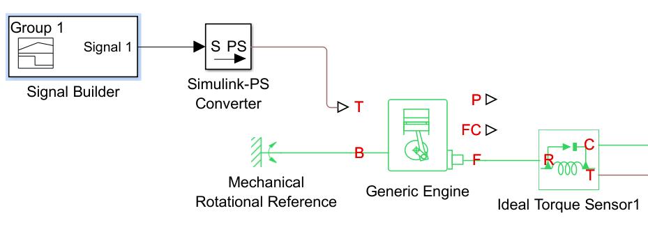 optimising throttle use for generic engine block matlab answers rh mathworks com Car Engine Diagram V8 Engine Diagram