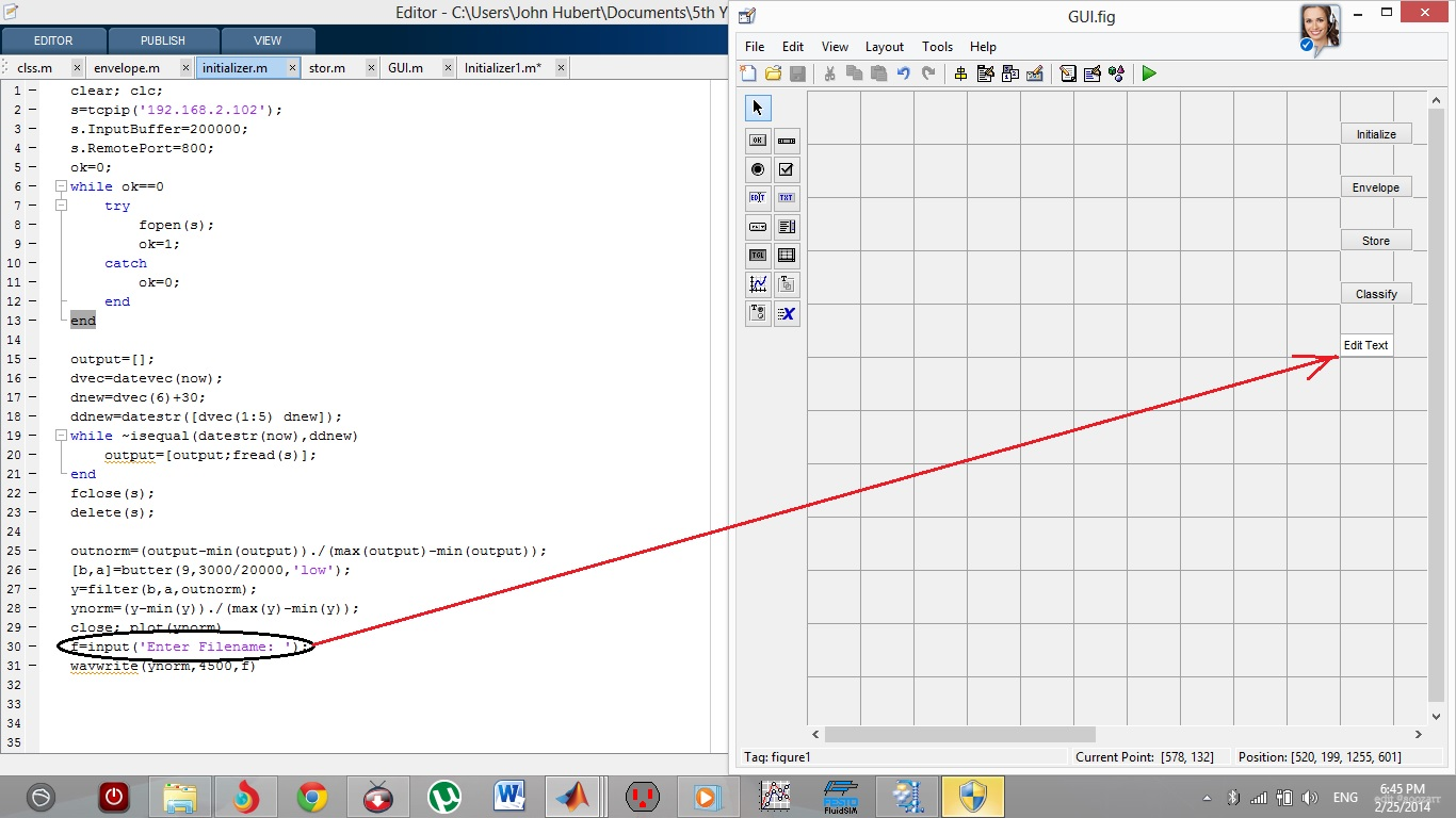 how to use edit text in gui in creating a filename matlab answers rh mathworks com how to use slider gui matlab how to use listbox matlab gui