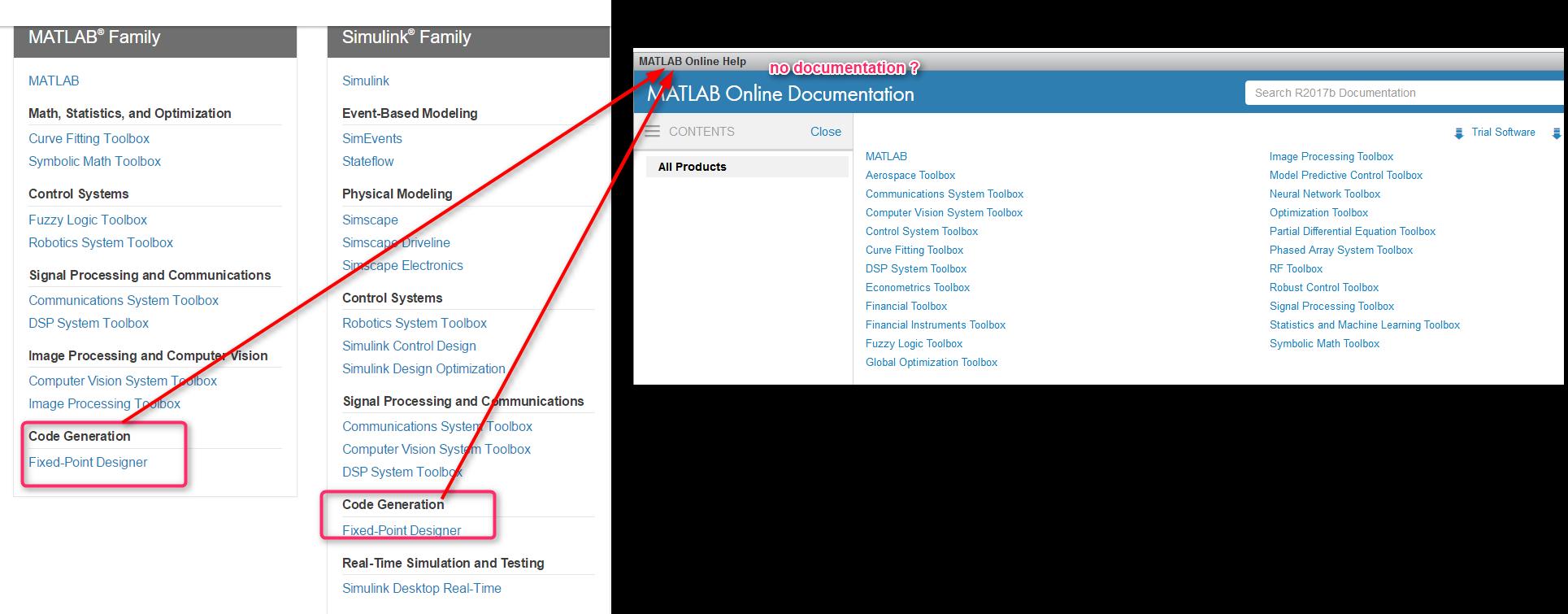 Matlab Online Missing Documentation Matlab Answers Matlab Central