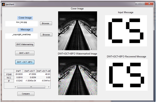 Digital Image Watermarking Using Optimised DWT & DCT - File Exchange