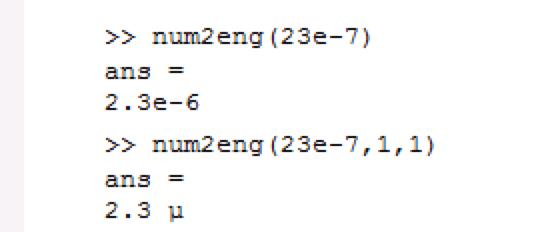 Num2eng File Exchange Matlab Central