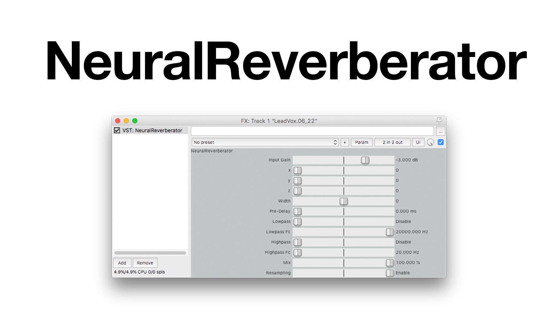 NeuralReverberator - File Exchange - MATLAB Central
