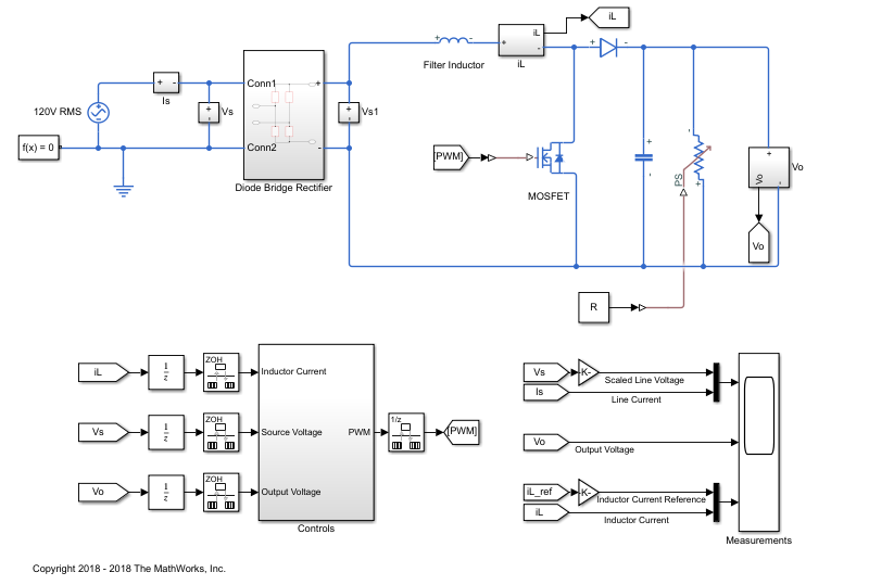 Active Power Factor Correction - File Exchange - MATLAB Central