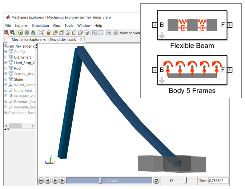 Flexible Body Models in Simscape Multibody - File Exchange - MATLAB