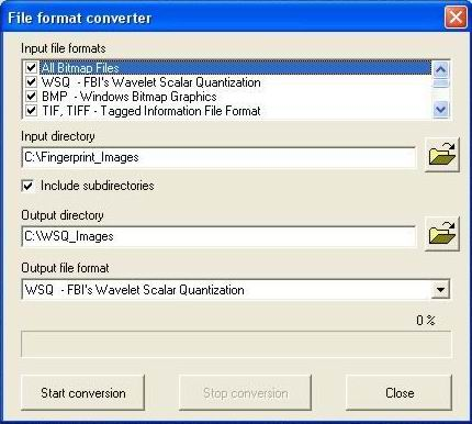 WSQ image library (for fingerprints) v 2 8 - File Exchange