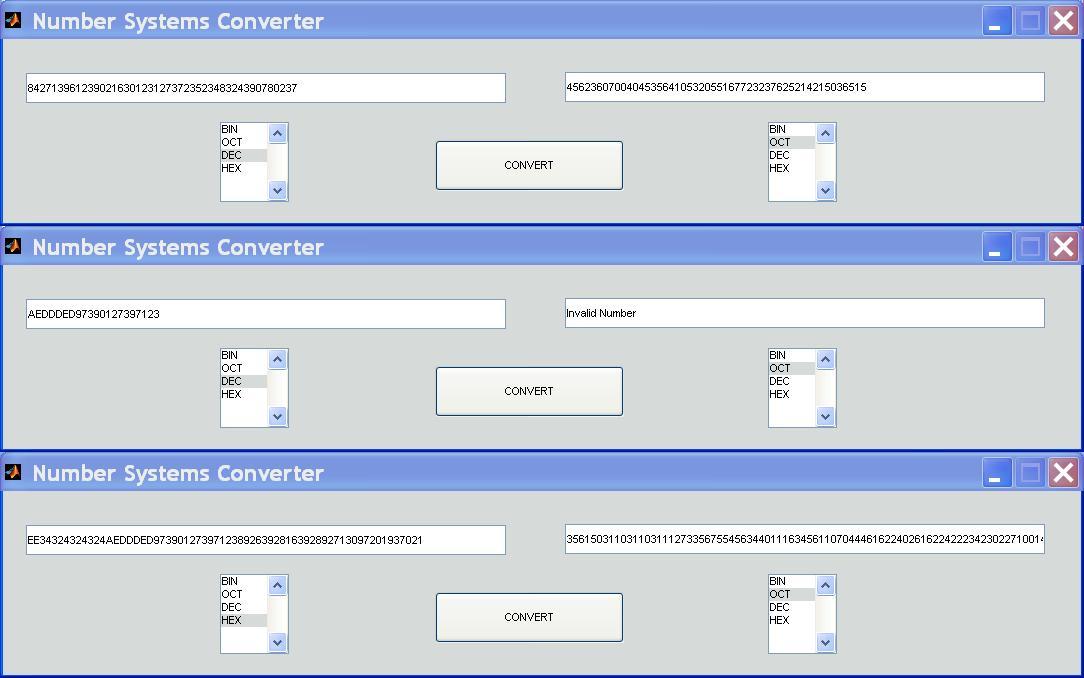 NUMBER SYSTEMS/ BASE CONVERTER - File Exchange - MATLAB Central