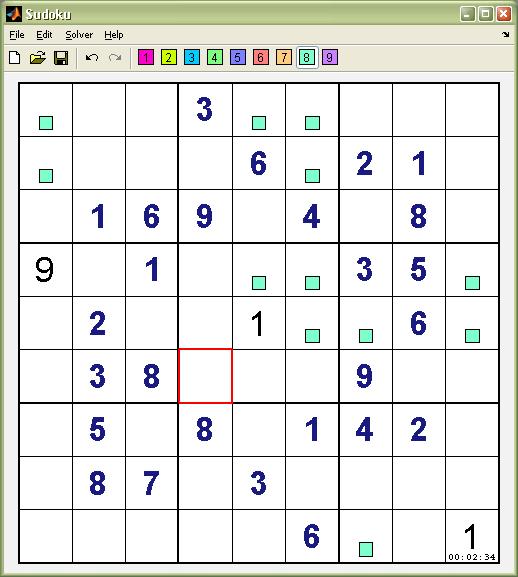 sudoku dancing links solver file exchange matlab central
