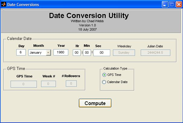Date Conversion Utility GUI - File Exchange - MATLAB Central