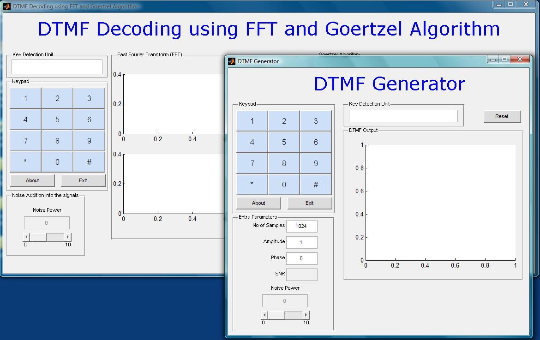 DTMF Encoder/Decoder (Generation/Detection) - File Exchange