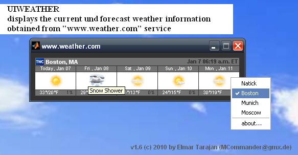 UIWEATHER Wwwweathercom File Exchange MATLAB Central - Weatherccom