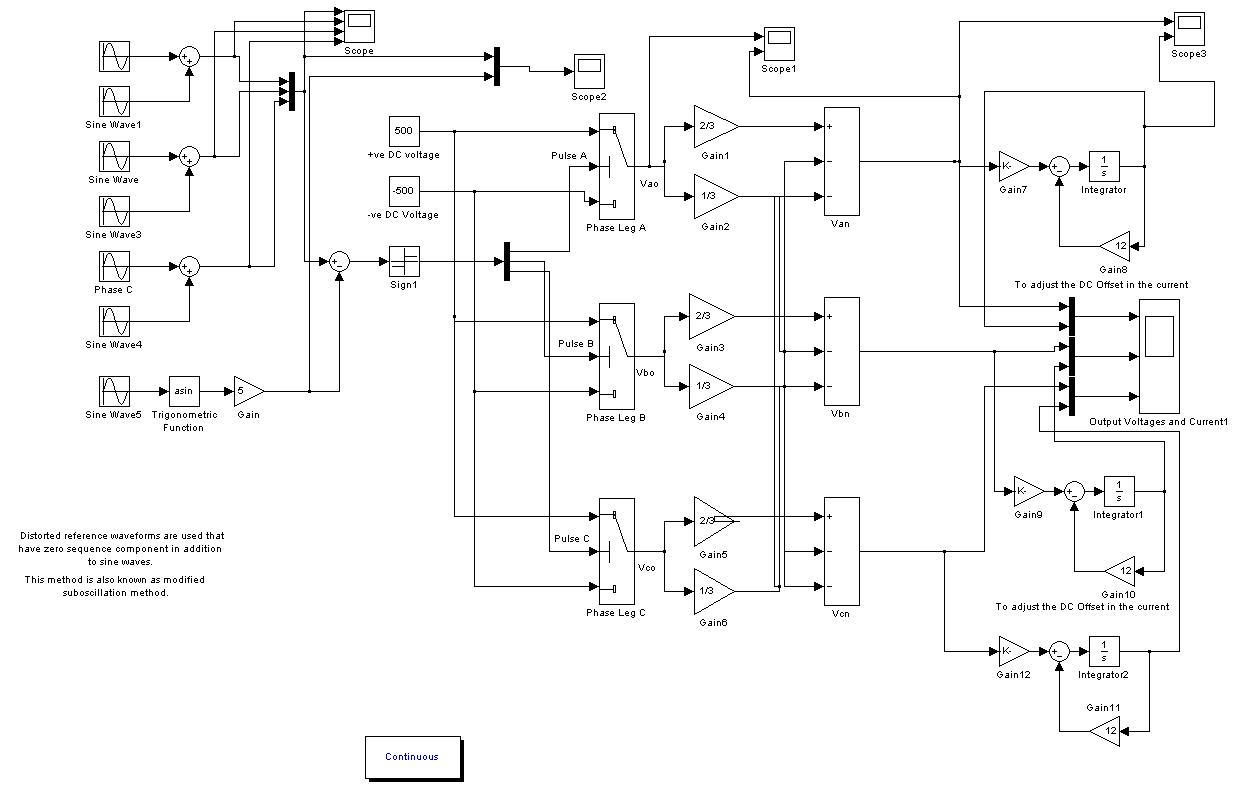 Modified Sinusoidal Pwm Based Inverter File Exchange Matlab Central Re Circuit Diagram For An Image Thumbnail