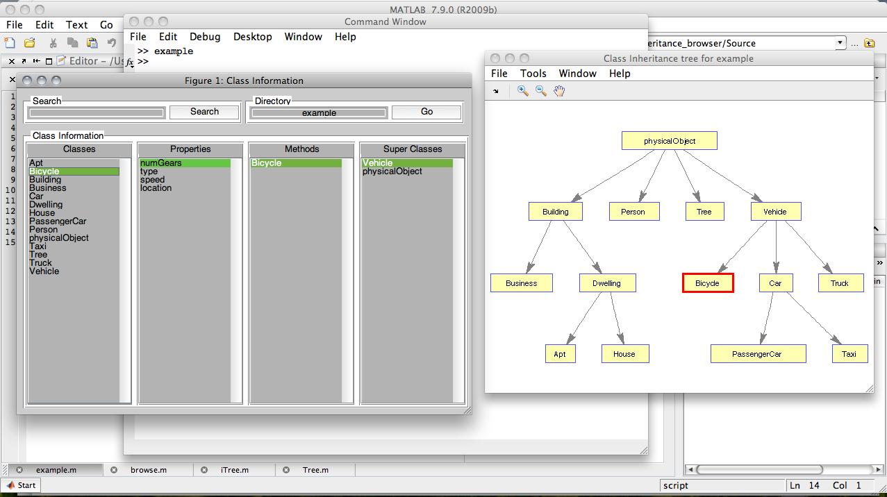 Class Inheritance Browser - File Exchange - MATLAB Central