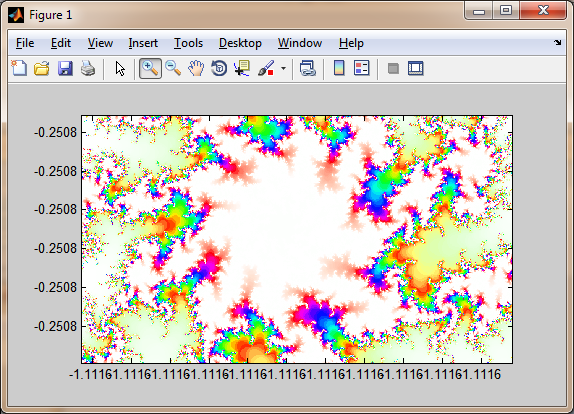 Mandelbrot fractal with (almost) infinite zoom - File