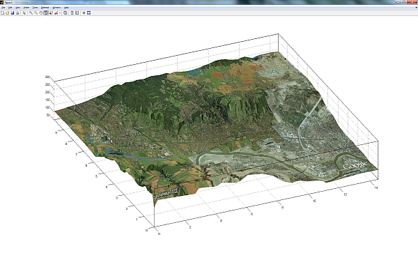 Heightprofile from GoogleEarth to 3D-Surface - File Exchange