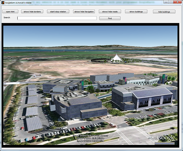 GoogleEarth in GUI - File Exchange - MATLAB Central
