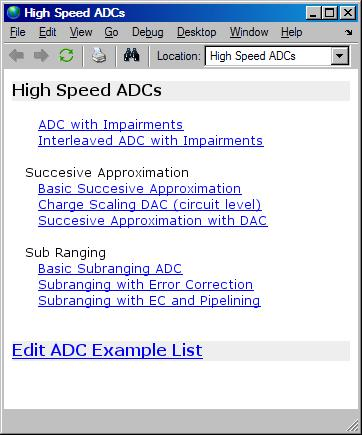 High Speed ADC Models - File Exchange - MATLAB Central