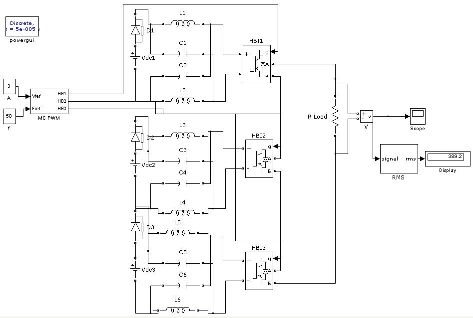 z source multi level inverter  file exchange  matlab central, wiring diagram