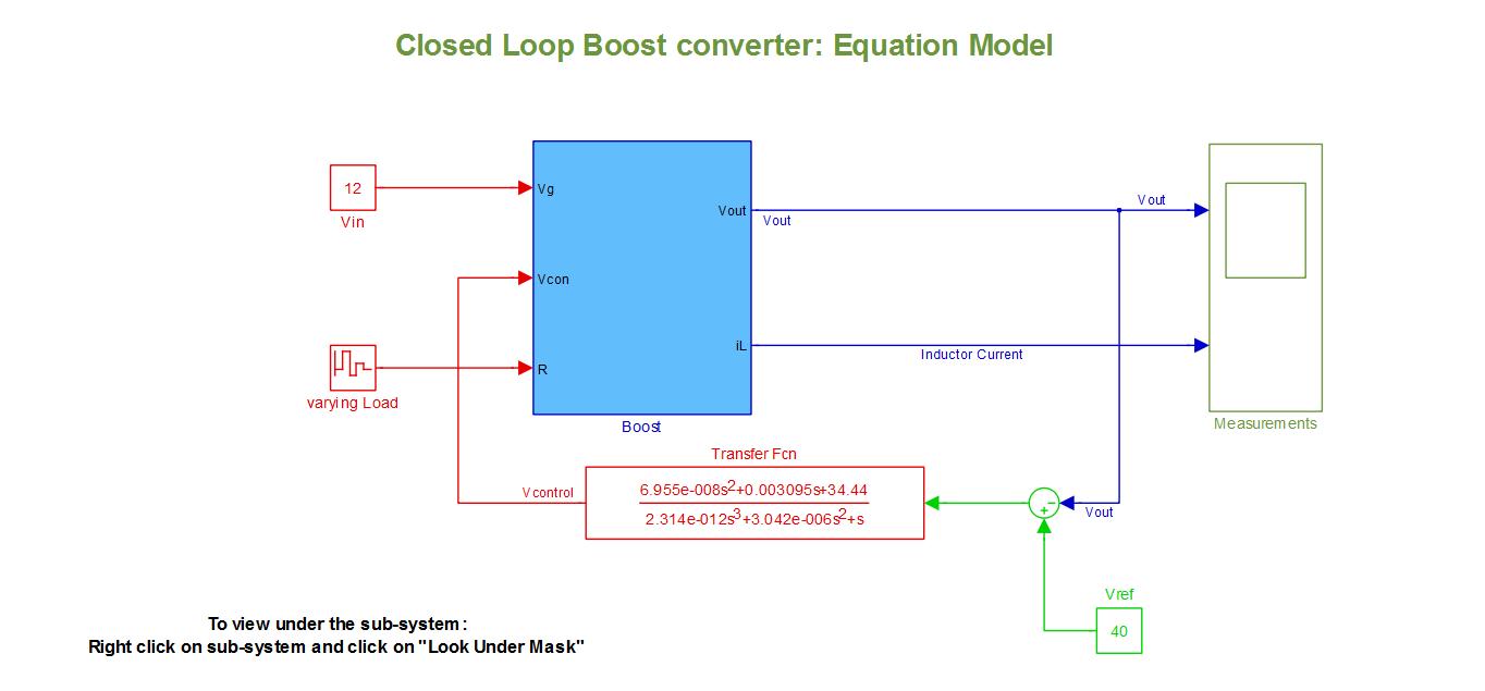 Closed Loop Boost Converter Equation Model File Exchange Matlab Stepupconvertercircuitjpg Image Thumbnail