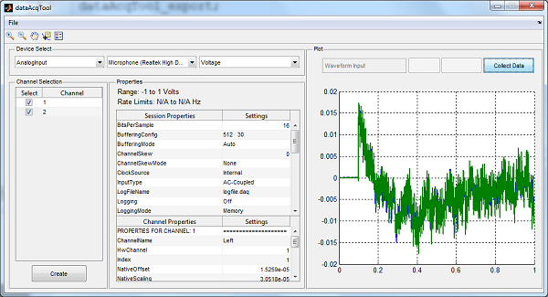 Data Acquisition And Trending : Data acquisition file exchange matlab central