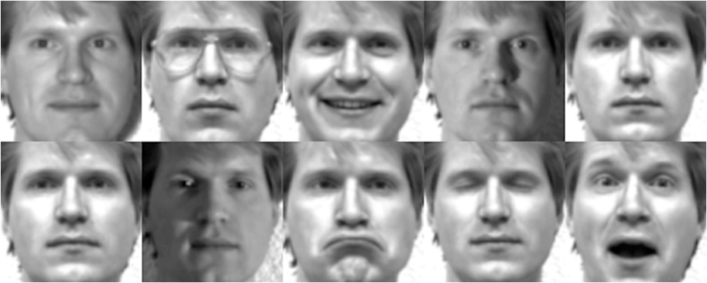 Face recognition database free download.