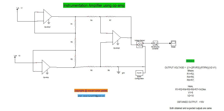 instrumentation amplifier - File Exchange - MATLAB Central on astable multivibrator schematics, modem schematics, orange amp schematics, guitar schematics, current-to-voltage converter, ulf receiver schematics, operational amplifier applications, wire schematics, low-noise amplifier, audio circuit schematics, motor schematics, rf power amplifier, fully differential amplifier, computer schematics, robot schematics, crossover distortion, charge transfer amplifier, operational transconductance amplifier, current-feedback operational amplifier, isolation amplifier, radio schematics, direct coupling, transformer schematics, tube schematics, electronic circuit schematics, speaker schematics, valve schematics, generator schematics, programmable-gain amplifier, negative feedback amplifier, ic circuit schematics, heathkit schematics, distributed amplifier, led schematics,