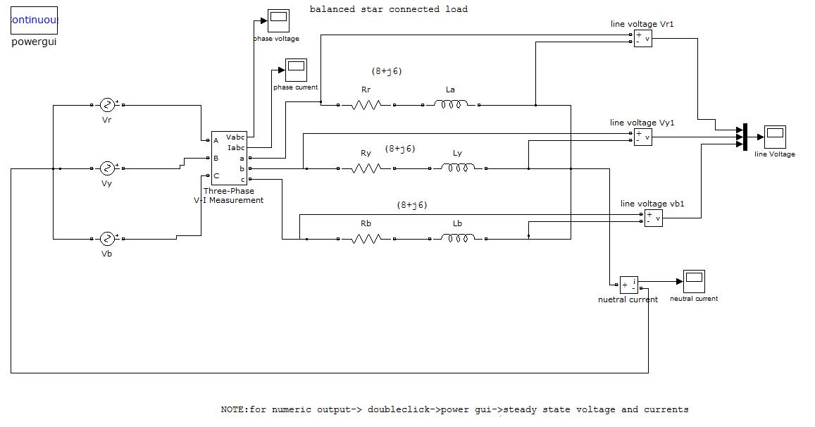 balanced star connected load - File Exchange - MATLAB Central