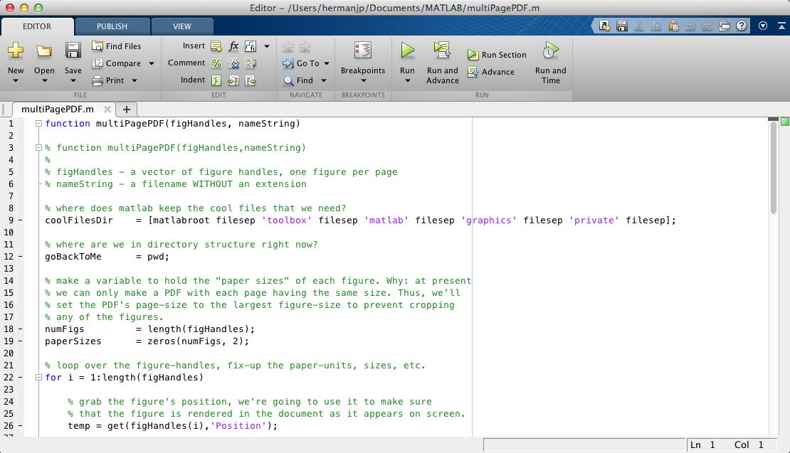 Multiple Page PDF - File Exchange - MATLAB Central