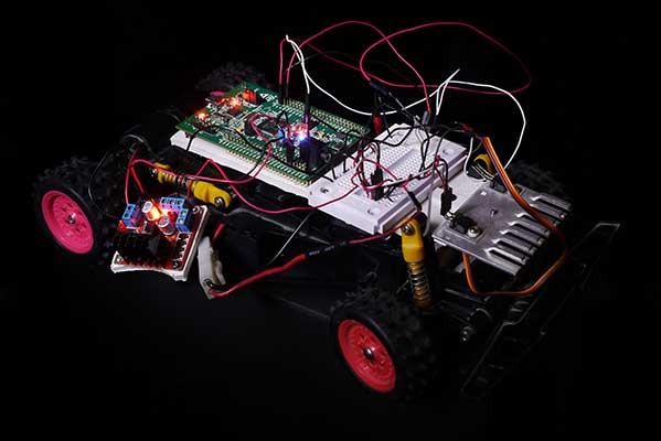 RC Car control with STM32F4-Discovery programmed by MATLAB - File