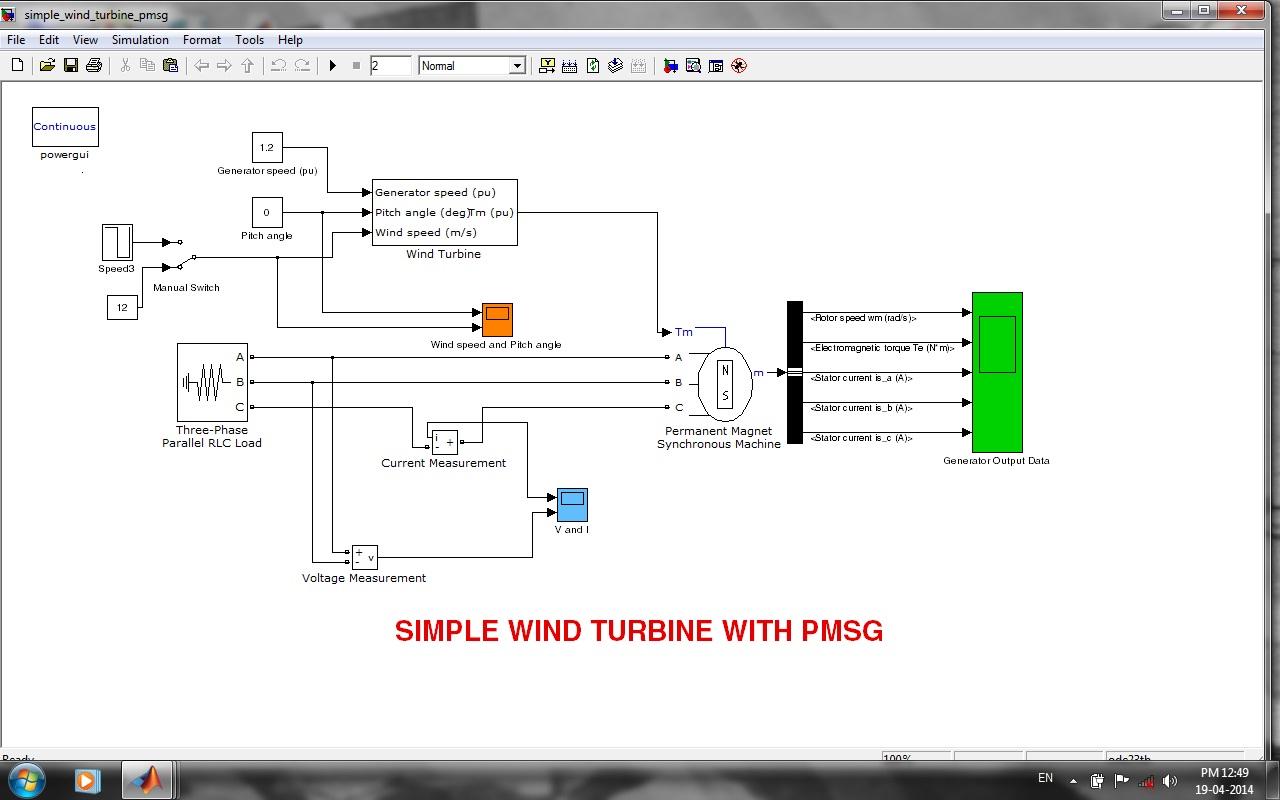how to make a simple wind turbine model