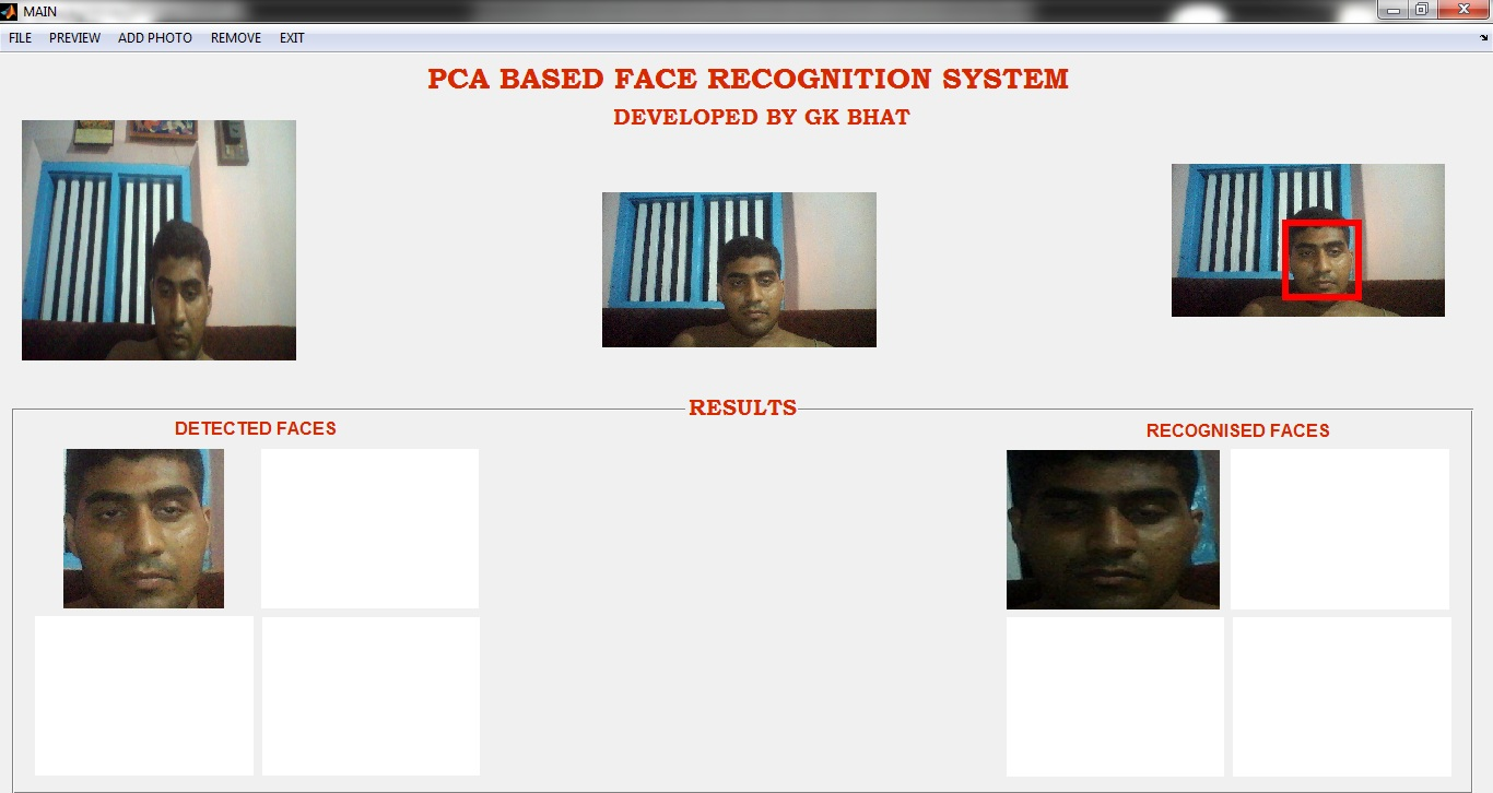 Real time face recognition and detection system - File