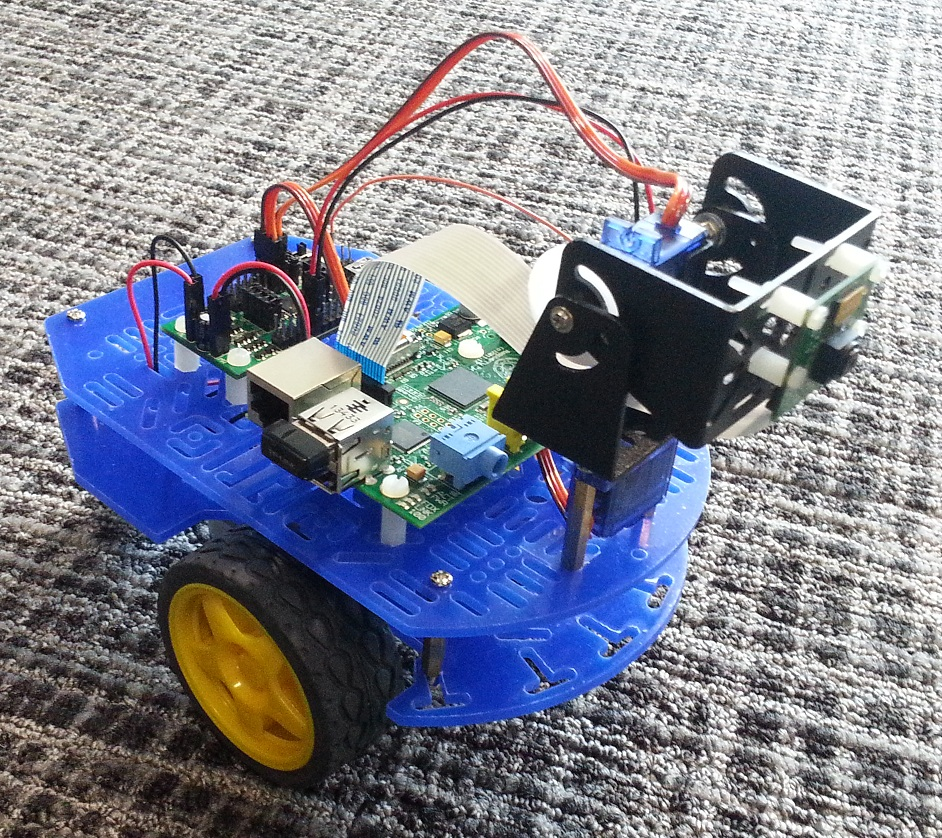 Control a Raspberry Pi powered robot with MATLAB and Simulink - File