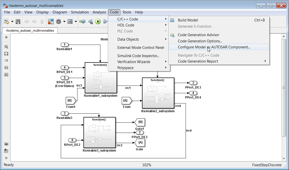 Embedded Coder Support Package for AUTOSAR Standard - File Exchange
