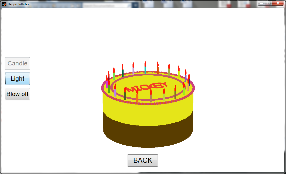 Birthday Cake File Exchange Matlab Central