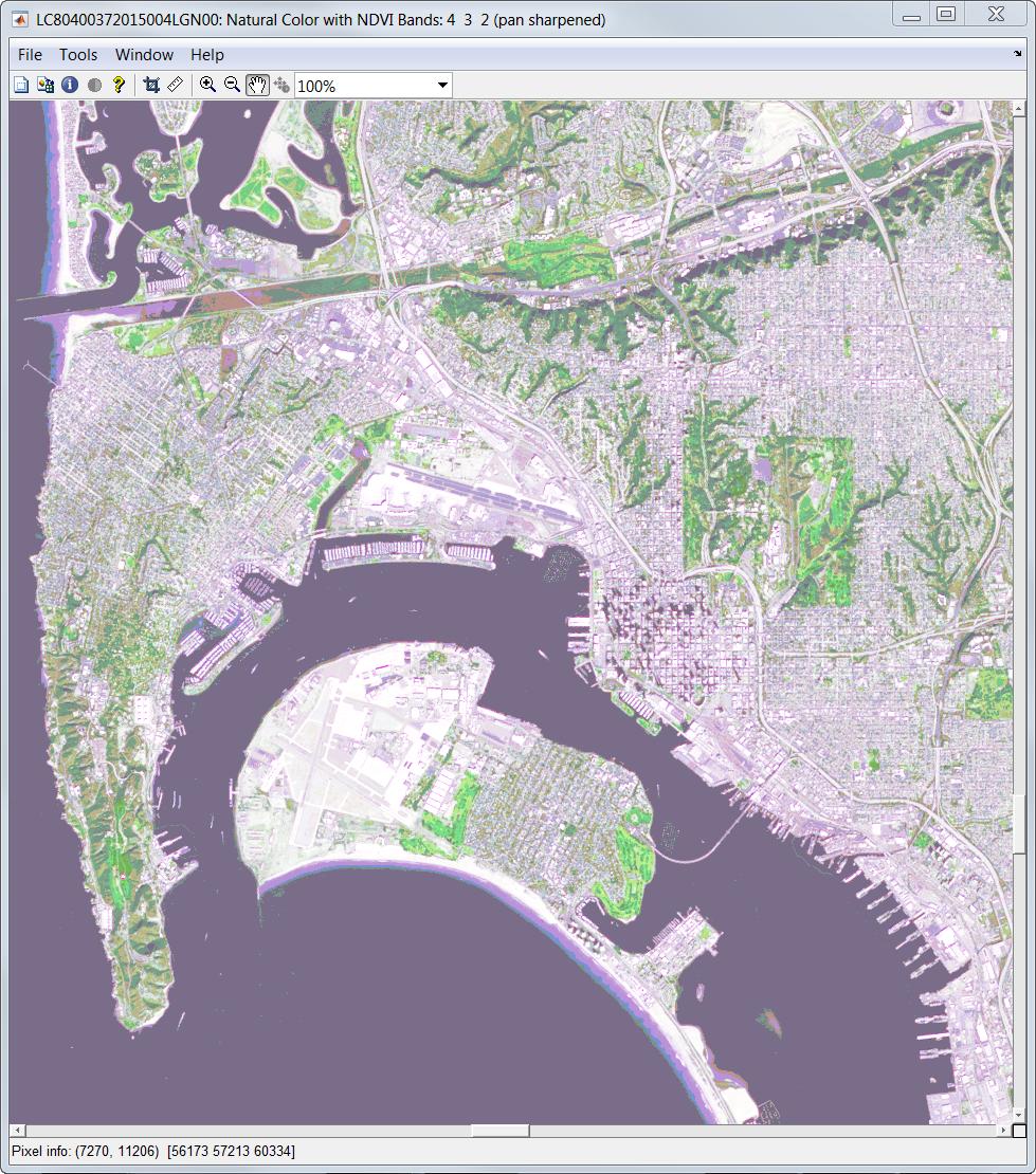 Landsat8 Data Explorer - File Exchange - MATLAB Central