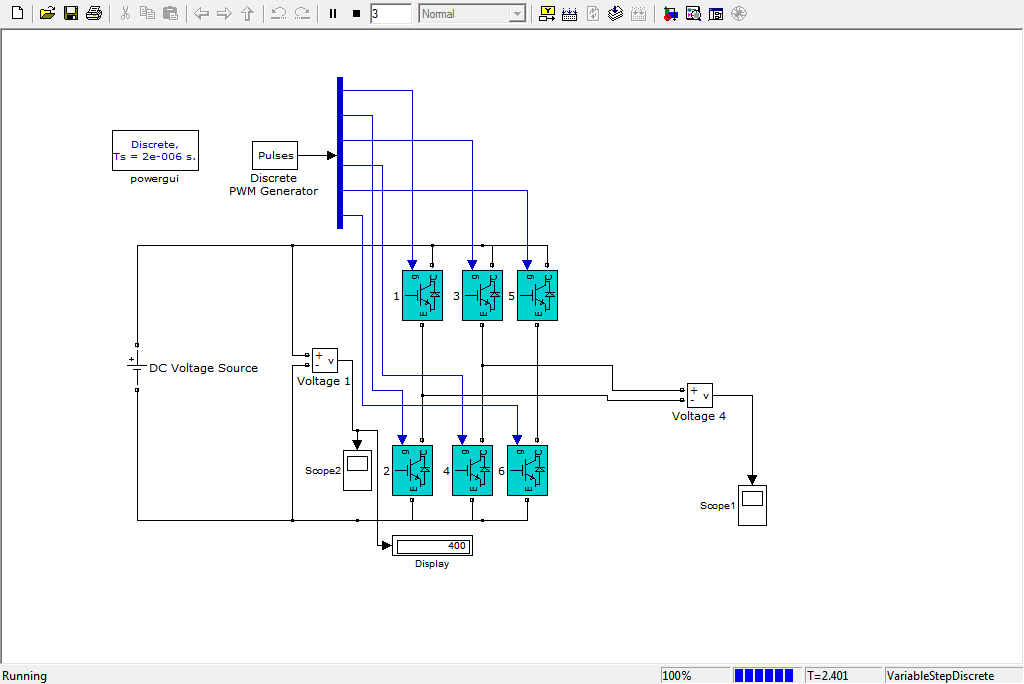 DC to Ac full bridge by inverter - File Exchange - MATLAB