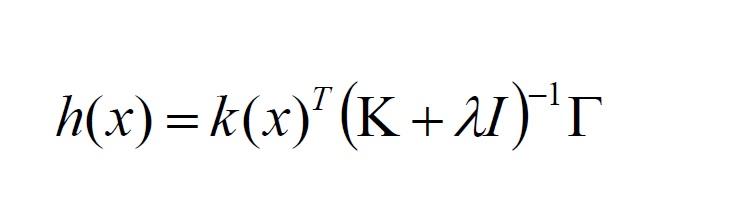 Kernel Ridge Regression in Matlab - File Exchange - MATLAB Central
