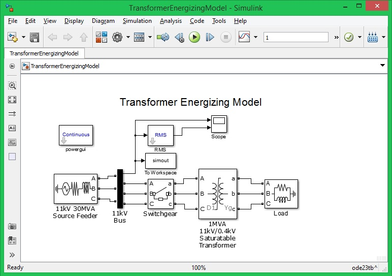 Voltage Sag Caused by Transformer Energizing - File Exchange ...