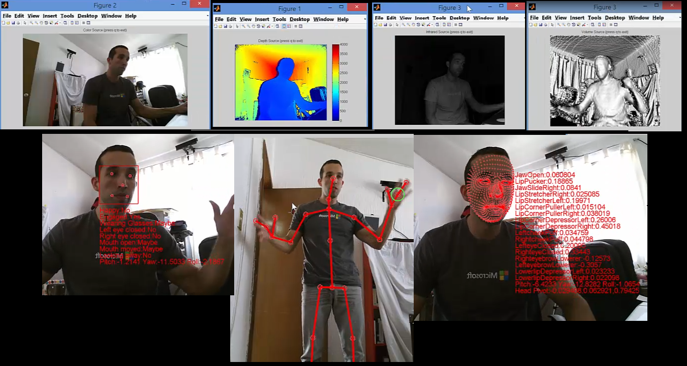 Kinect 2 Interface for Matlab - File Exchange - MATLAB Central