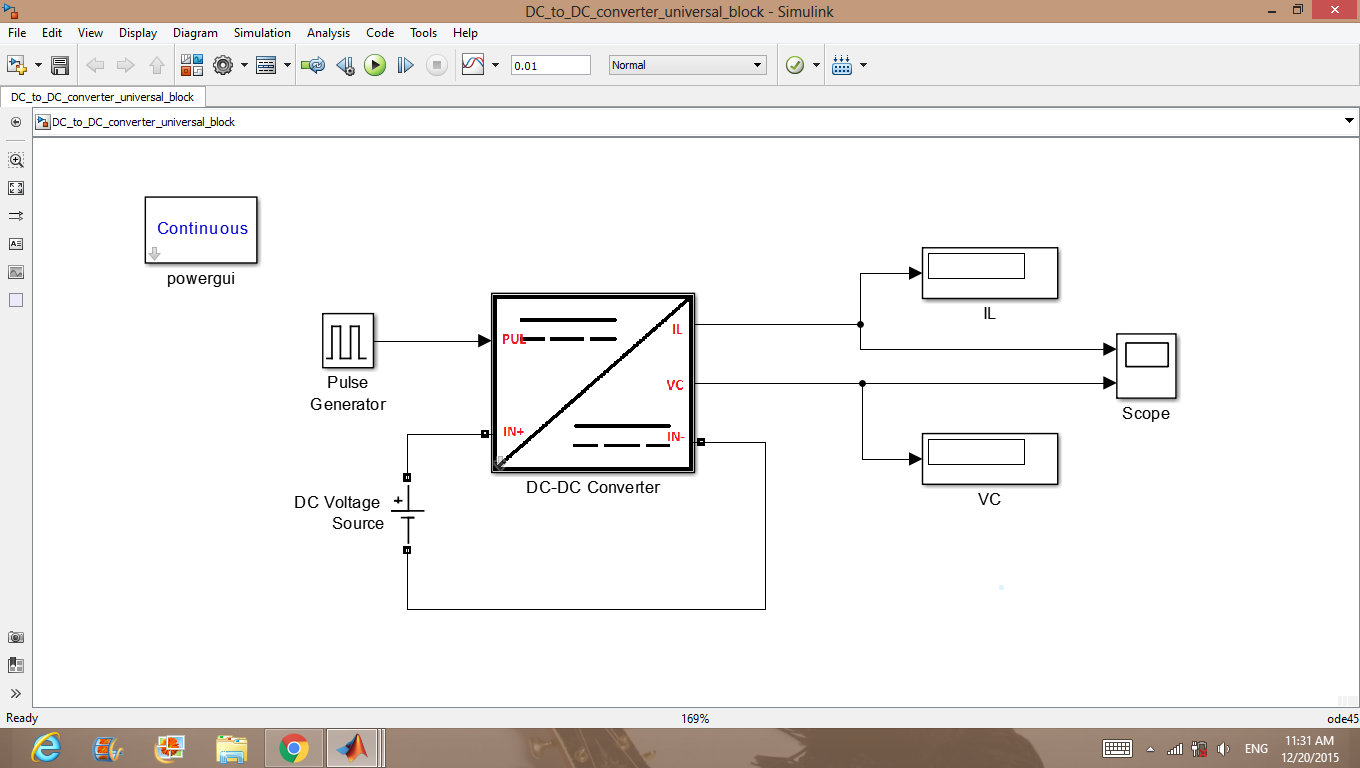 Dc Converter Universal Block File Exchange Matlab Central To Circuit Also Buck Boost Design