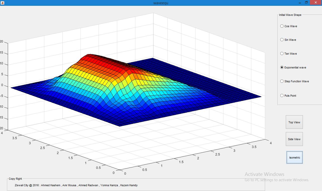2D Wave Equation Simulation - Numerical Solution - GUI - File