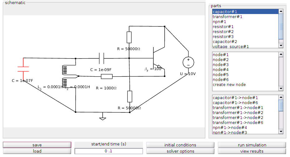 Electronic Circuit Simulation Tool - File Exchange - MATLAB Central
